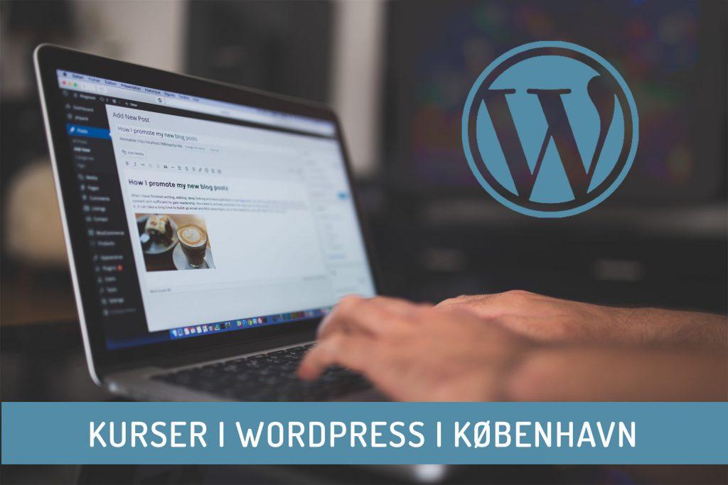 WordPress kursus København - undervisning i hjemmesider